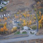 750 ft Arial Veiw of Brookside Campsite RV Park  late fall 2012